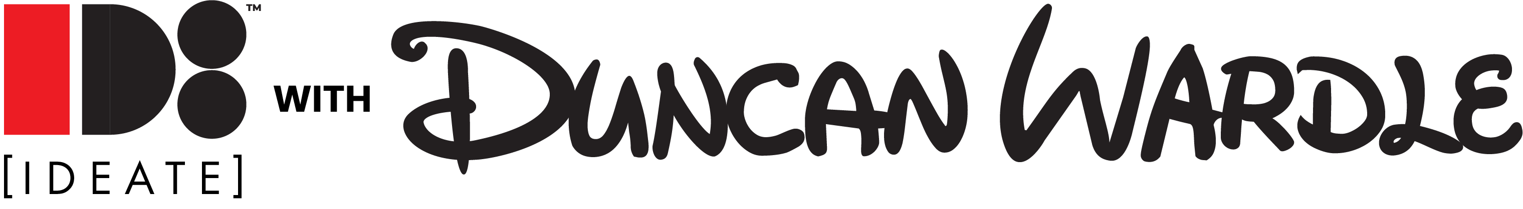 IDEATE with Duncan Wardle Logo